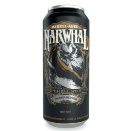 Sierra Nevada Barrel Aged Narwhal Stout Can
