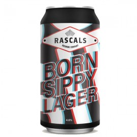 Rascals Born Sippy Dry Hopped Lager