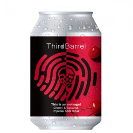 Third Barrel This Is An Outrage Imperial Milk Stout