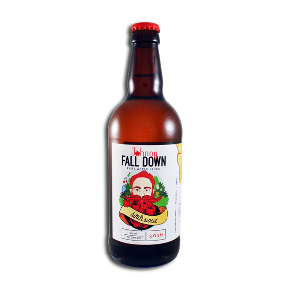 Johnny Fall Down Bitter Sweet Apples Cider
