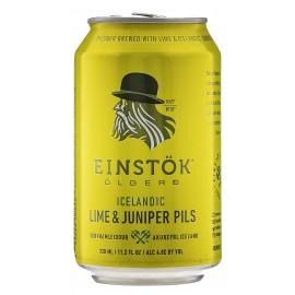 Einstok Lime & Juniper Pilsner