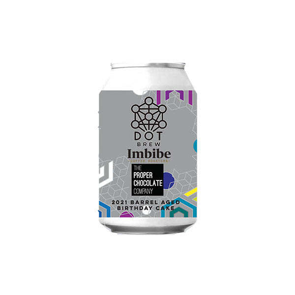 DOT Brew Barrel Aged Birthday Cake 2021