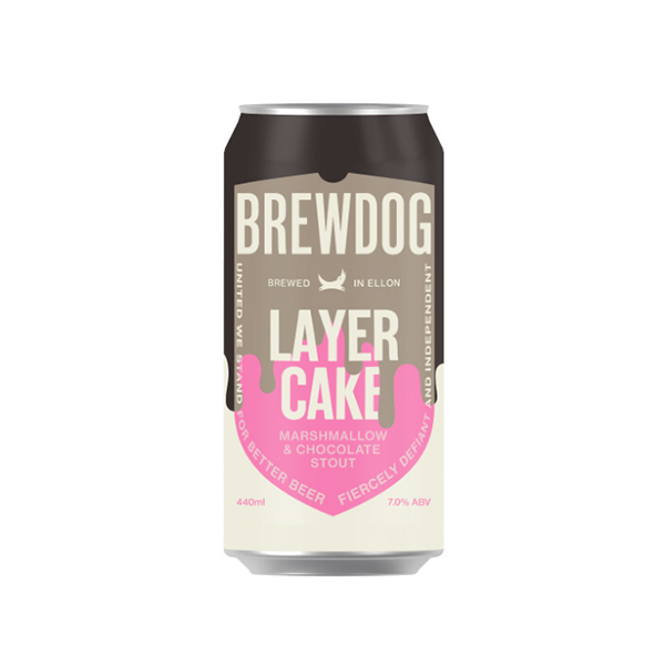 BrewDog Layer Cake