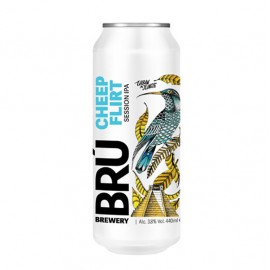Bru Brewery Cheep Flirt Session IPA