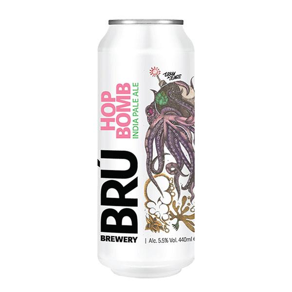 Bru Brewery Hop Bomb IPA