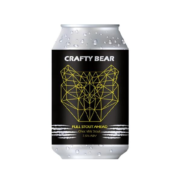 Crafty Bear Full Stout Ahead