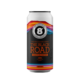 Eight Degrees The Black Road Campfire Porter