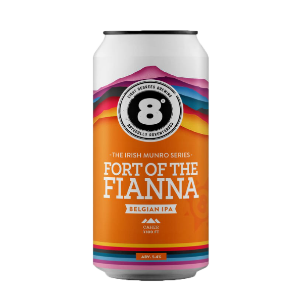 Eight Degrees Fort of the Fianna Belgian IPA