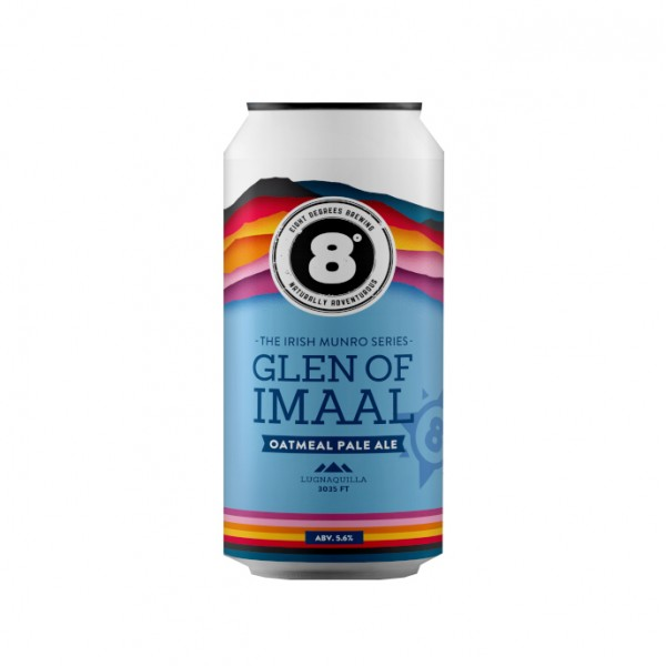 Eight Degrees Glen of Imaal Oatmeal Pale Ale