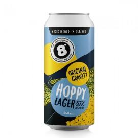 Eight Degrees Original Gravity Hoppy Lager