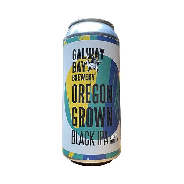 Galway Bay Oregon Grown Black IPA