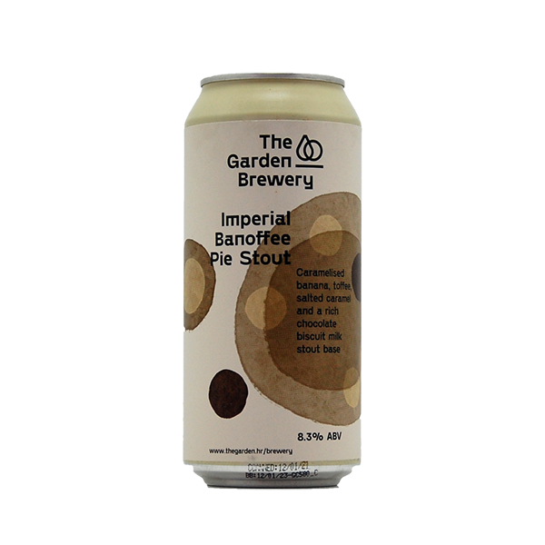 Garden Brewery Imperial Banoffee Pie Stout