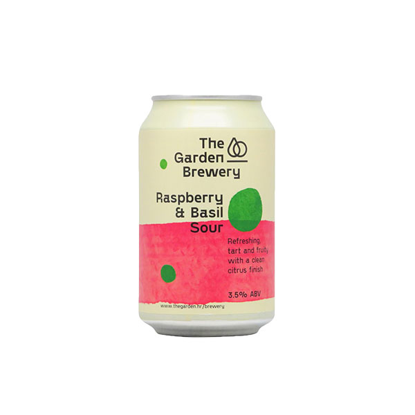 Garden Brewery Raspberry and Basil Sour