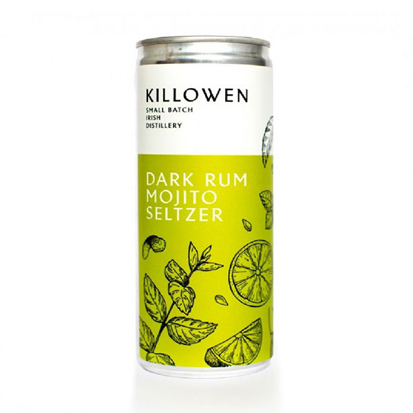 Killowen Dark Rum Mojito Seltzer