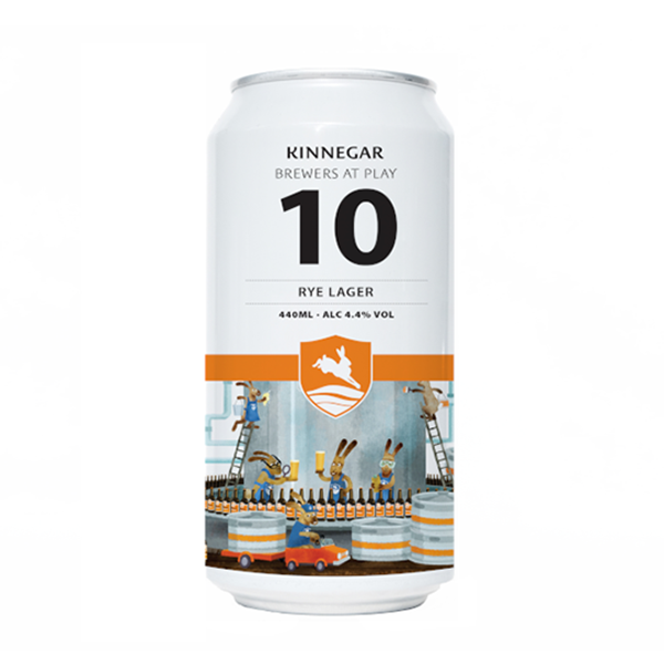 Kinnegar Brewers at Play No.10 Rye Lager