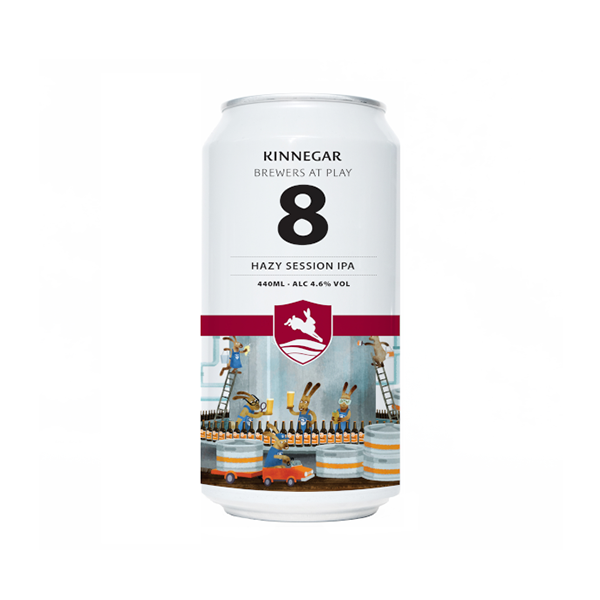 Kinnegar Brewers at Play No. 8 Hazy Session IPA
