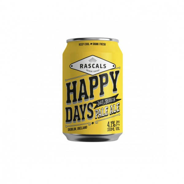 Rascals Happy Days Pale Ale