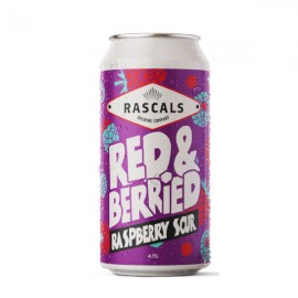 Rascals Red & Berried Raspberry Sour