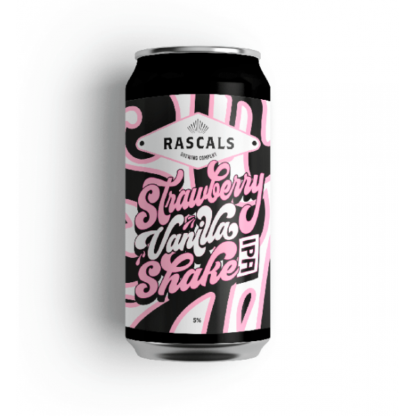 Rascals Strawberry Vanilla Shake