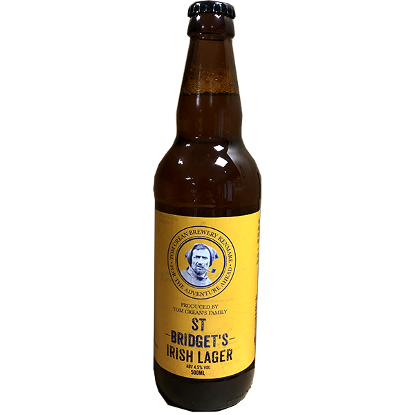 Tom Crean St Bridgets Lager