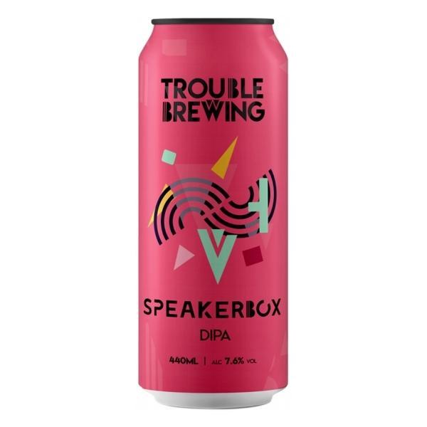 Trouble Brewing Speakerbox
