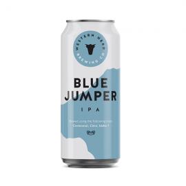 Western Herd Blue Jumper