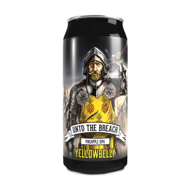 Yellowbelly Unto The Breach Pineapple Double IPA